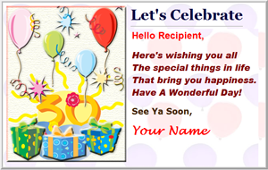 create and send customized and personalized greeting ecards